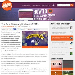 The Best Linux Applications of 2013