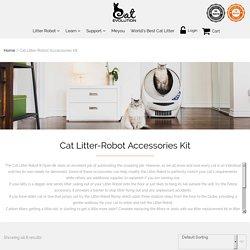 Get Best Cat Litter box Accessories for Open Air Litter Robot