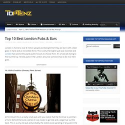 Top 10 London Pubs & Bars