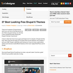 27 Best Looking Free Drupal 6 Themes | Graphic and Web Design Bl