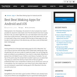 Best Beat Making Apps for Android and iOS - Tapren