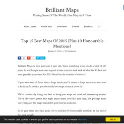 Top 15 Best Maps Of 2015 (Plus 10 Honourable Mentions)