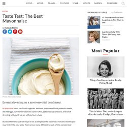 Best Mayonnaise Brand Taste Test