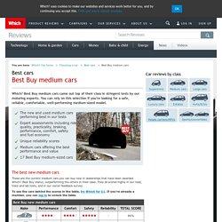 Best Buy medium cars - Best cars - Choosing a car - Which? Car