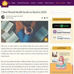 7 Best Mental Health books to Read in 2020