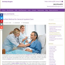 The Best Method for General Inpatient Care