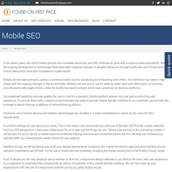Best Mobile SEO Services in UK