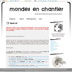 Best of - Mondes en Chantier