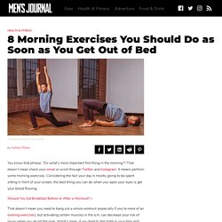 The Best Morning Exercises to Do When You Get Out of Bed