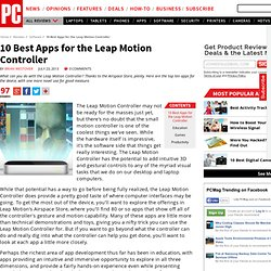 10 Best Apps for the Leap Motion Controller