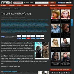The 50 Best Movies of 2009