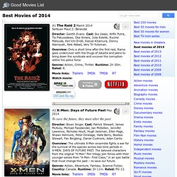 Best Movies of 2014 to Watch - Good Movies List