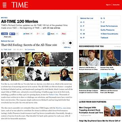 ALL Time 100 Movies