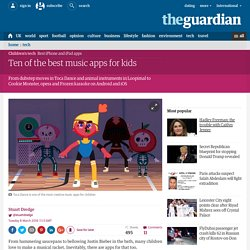Ten of the best music apps for kids