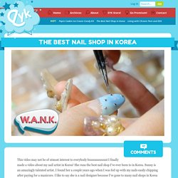 The Best Nail Shop in Korea