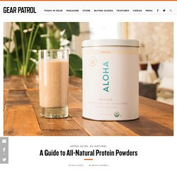 10 Best All-Natural Protein Powders
