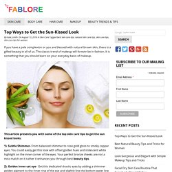 Best Natural Skin Care Tips for Women