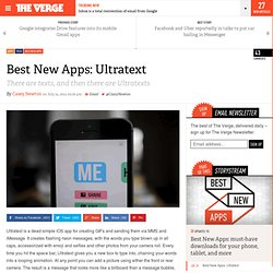 Best New Apps: Ultratext
