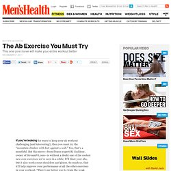Best New Ab Exercise | Mens Health
