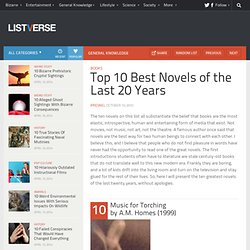 Top 10 Best Novels of the Last 20 Years