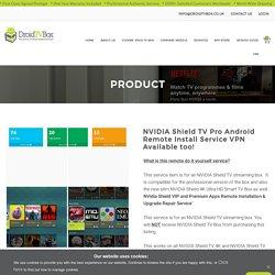 Nvidia Shield tv UK
