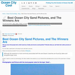 Best Ocean City Sand Pictures, and The Winners Are