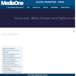 The Best Online Ads in Singapore That Can Work For Your Business