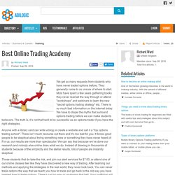 Best Online Trading Academy