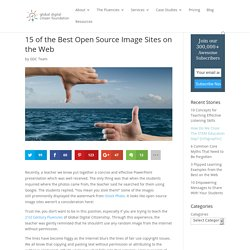 15 of the Best Open Source Image Sites on the Web