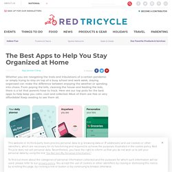 The Best Organization Apps for Families