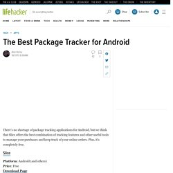 The Best Package Tracker for Android