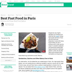 Best Fast Food in Paris, France - Travel Guide