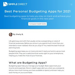 Best Personal Budgeting Apps for 2021