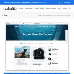 30+ Best Personal Blog WordPress Themes 2016
