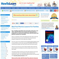Best Free Phonics Lessons For Families