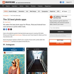The best photo apps