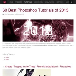 60 Best Photoshop Tutorials of 2013