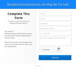 Best Photoshop Tutorials | BestPhotoshopTutorials has over 900+ Photoshop tutorials and brushes and is a great resource for people that love Photoshop. The site also has Photoshop tips and interviews with Digital Artists.