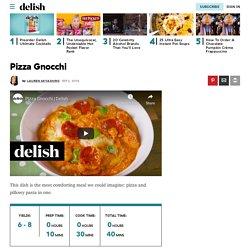 Best Pizza Gnocchi Recipe - How To Make Pizza Gnocchi