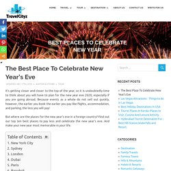 Best Places To Celebrate The New Year Eve in 2020