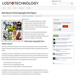 Best Places to Find Copyright Free Clipart