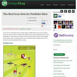 The Best Icon Sets for Portfolio Sites - Web Design Blog – Desig