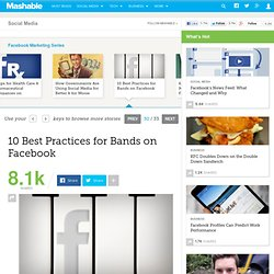 10 Best Practices for Bands on Facebook