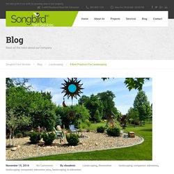 Unique Landscaping Designs In Edmonton