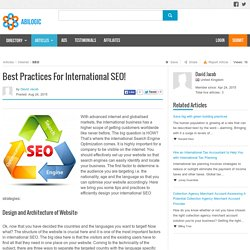 Best Practices For International SEO!