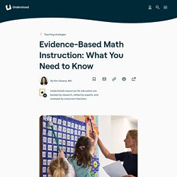 Best Practices for Math Teaching