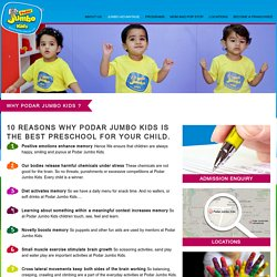 One of the Best Preprimary Schools Near You – Jumbo Kids