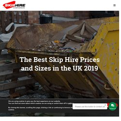 The Best Skip Hire Prices and the Available Sizes in the UK