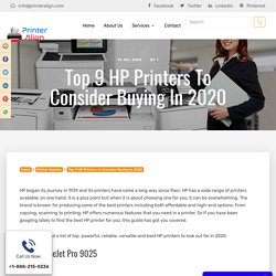 9 Best HP Printers 2020 Compel You to Buy Them