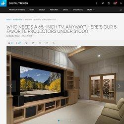 Best Projectors Under $1,000